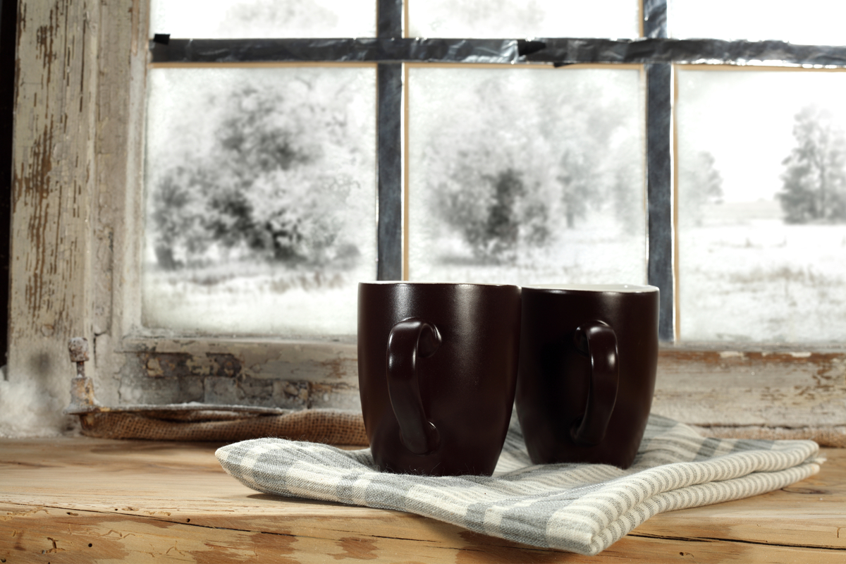 Kaffee und Winter