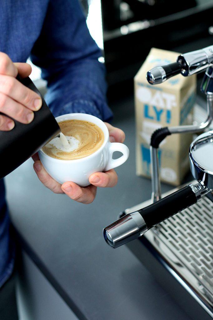 Cappuccino close up