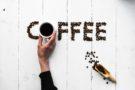 Kaffeebohnen Word Art
