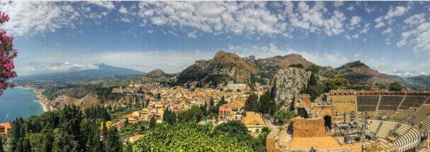 Sizilien Insel von Italien