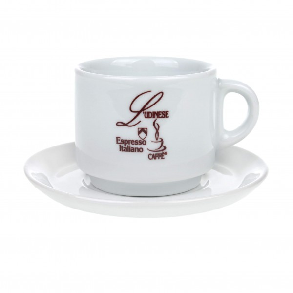 Cappuccinotasse mit Logo L'Udinese