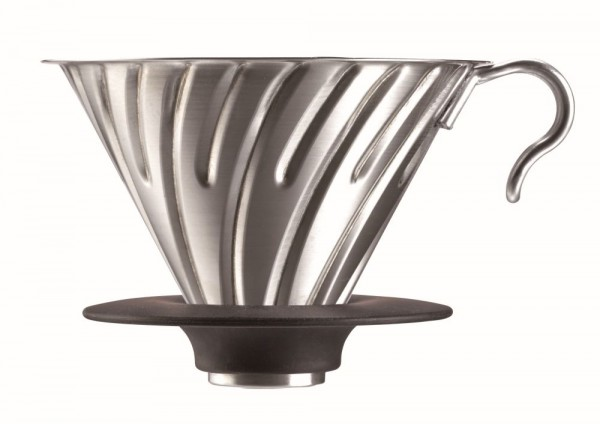 V60 Metal Dripper Stainless