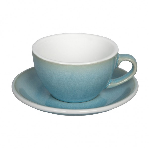 Cappuccinotasse Egg Ice Blue