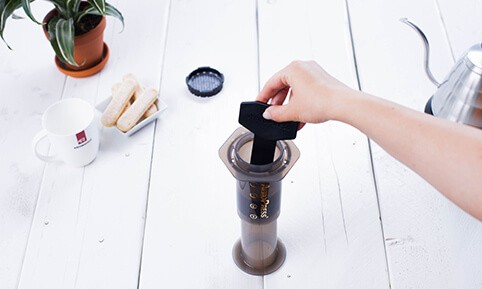 Aeropress Pour over Methode