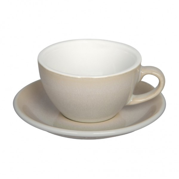 Cappuccinotasse Egg Ivory